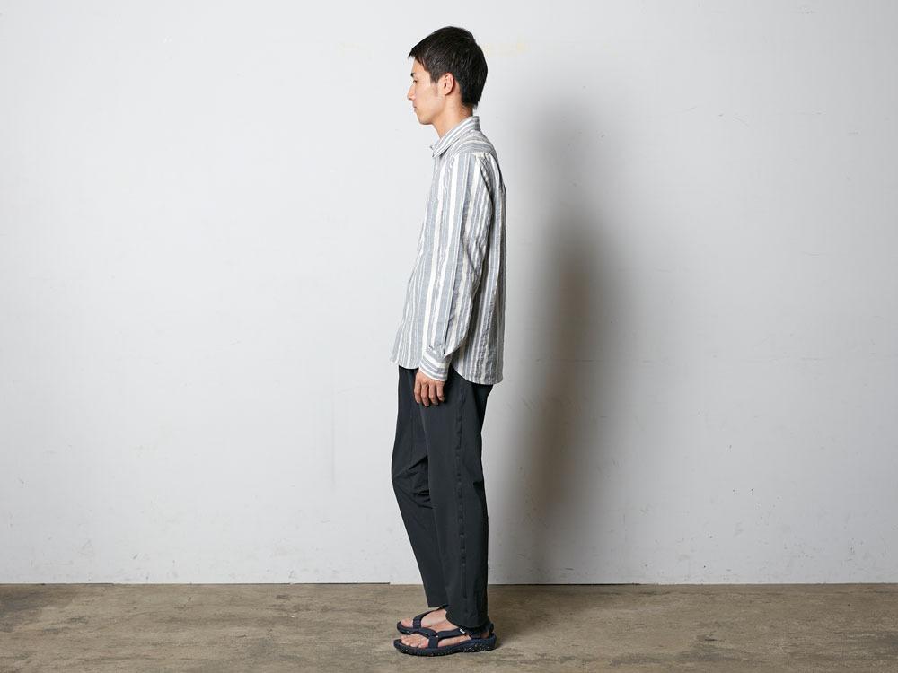 OrganicStripedShirt L Ecru2