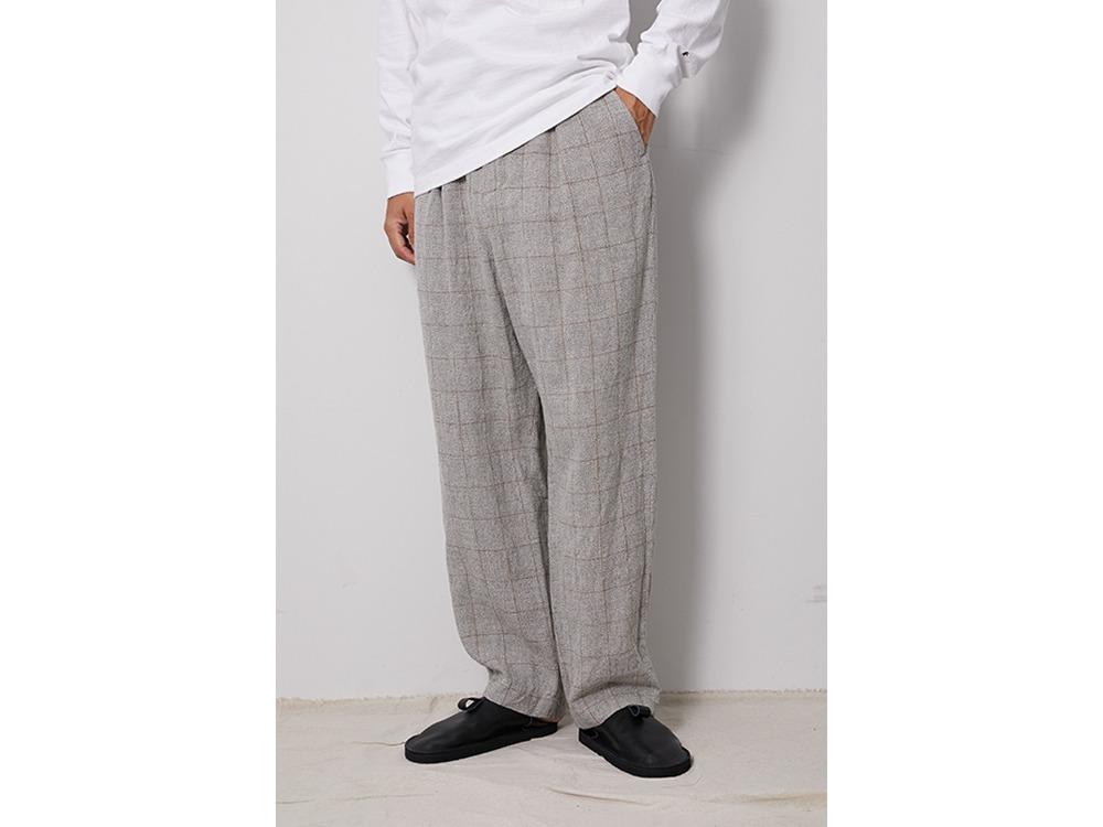 C/L Check Tweed Pants M Beige