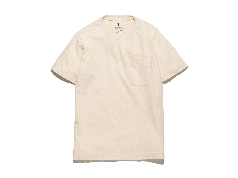 Organic Tshirt L Ecru0