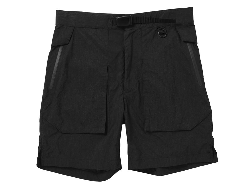 Indigo C/N  Anorak Shorts 2 Black0