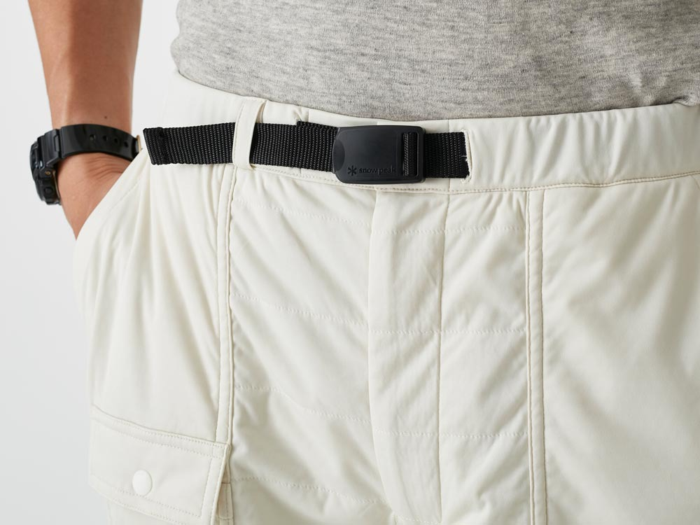 FlexibleInsulated Shorts L White6