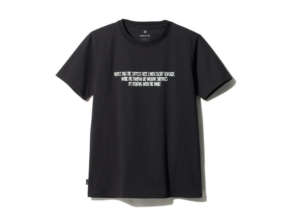 Typographical Tee #6 XL Black