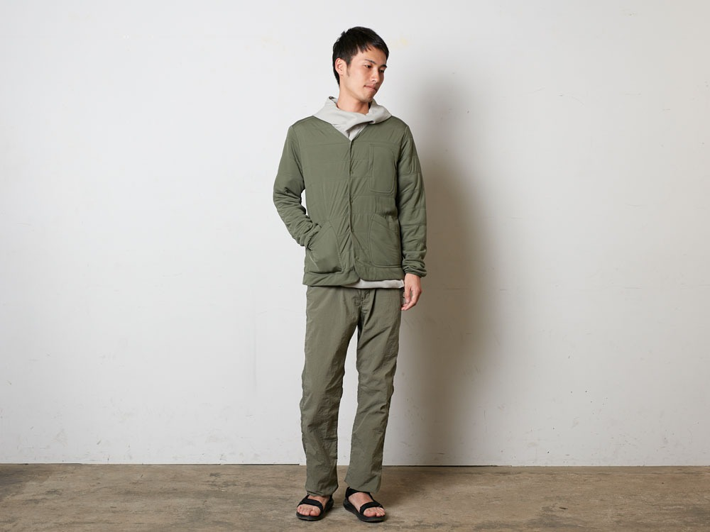 FlexibleInsulatedCardigan 1 Olive1