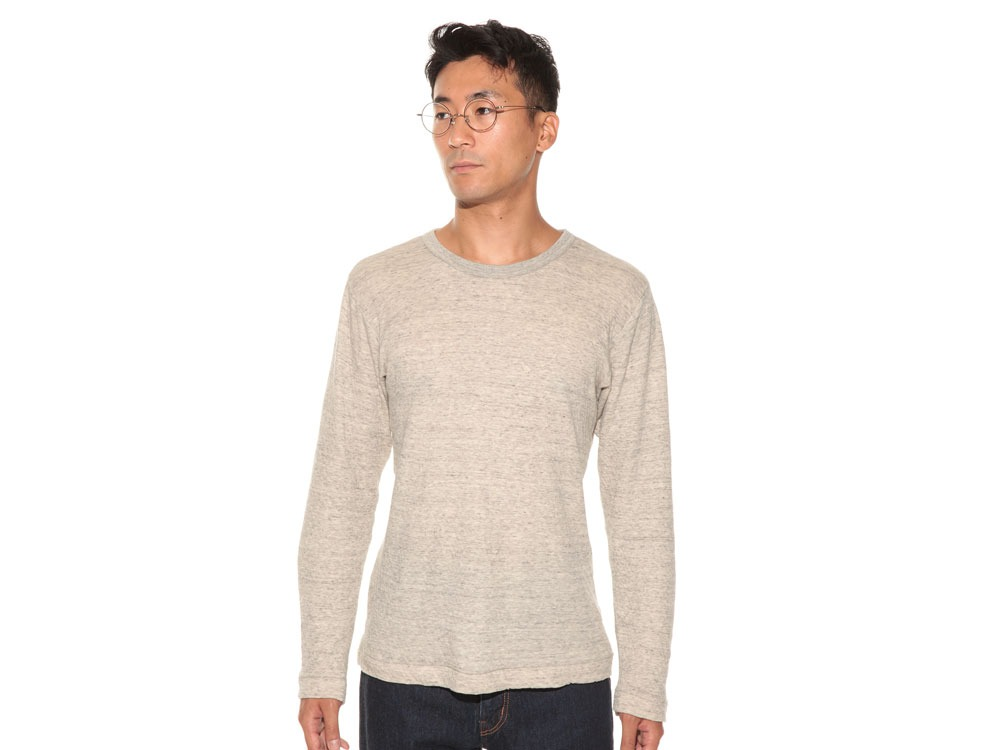 Ultimate Pima Double Knit Long Sleeve S M.Grey2