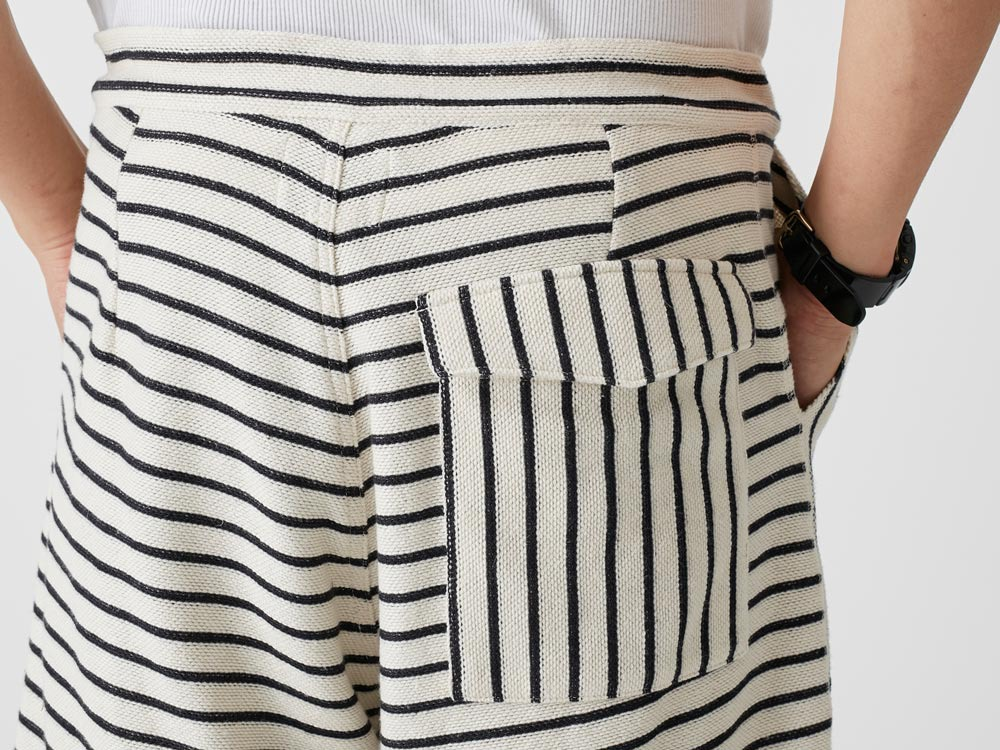C/L Striped Shorts L Ecru8