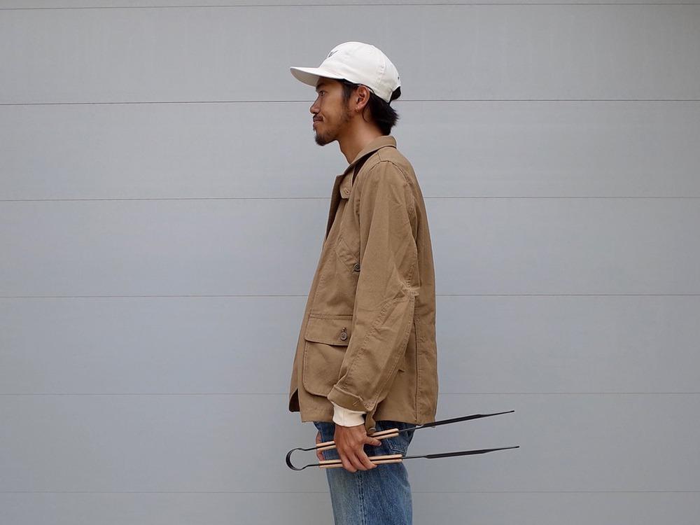 TAKIBI タキビカバーオール S ブラウン