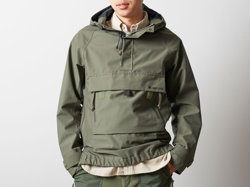 FR Rain Pullover M Olive4