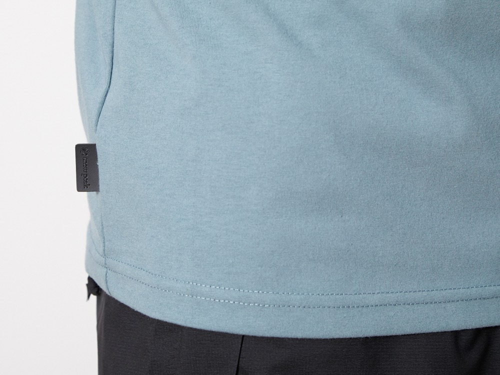 Flat Burner Tee 1 Light Blue