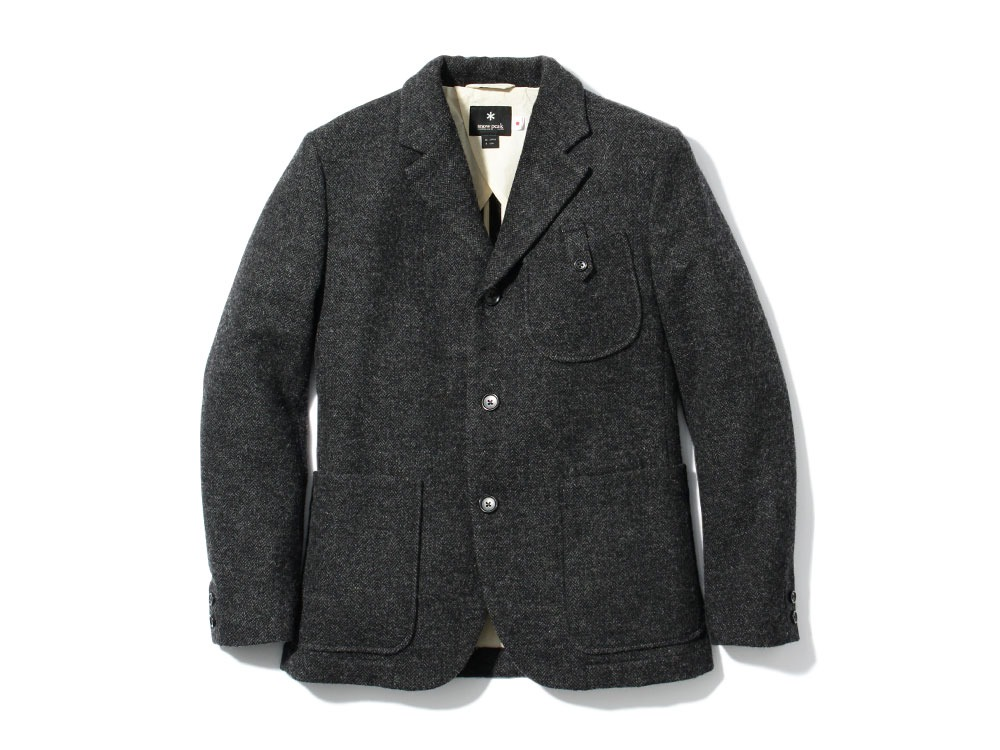 Camping Wool Jacket S Black0