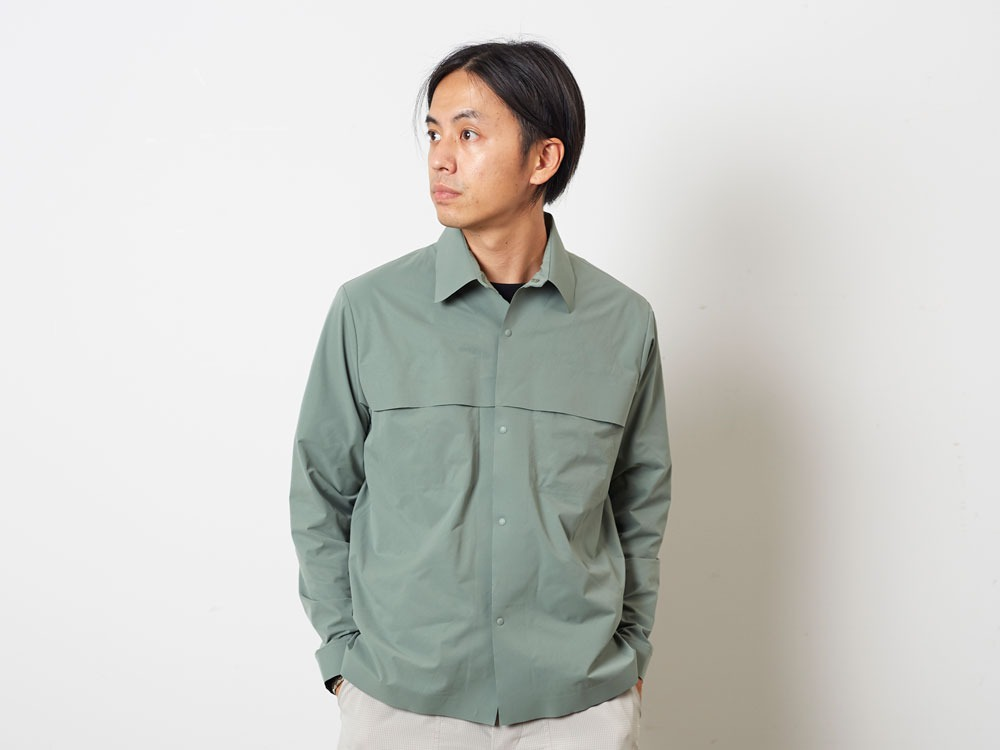 DRY&StretchShirt  S Sage9