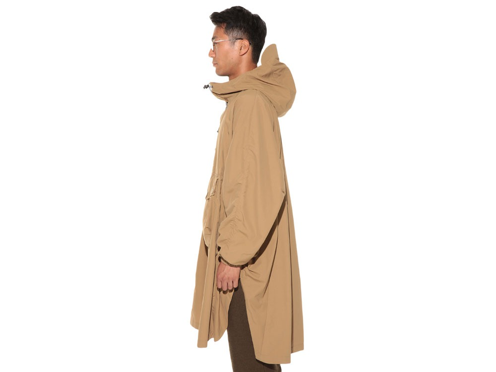 Camping Over Poncho M Beige3
