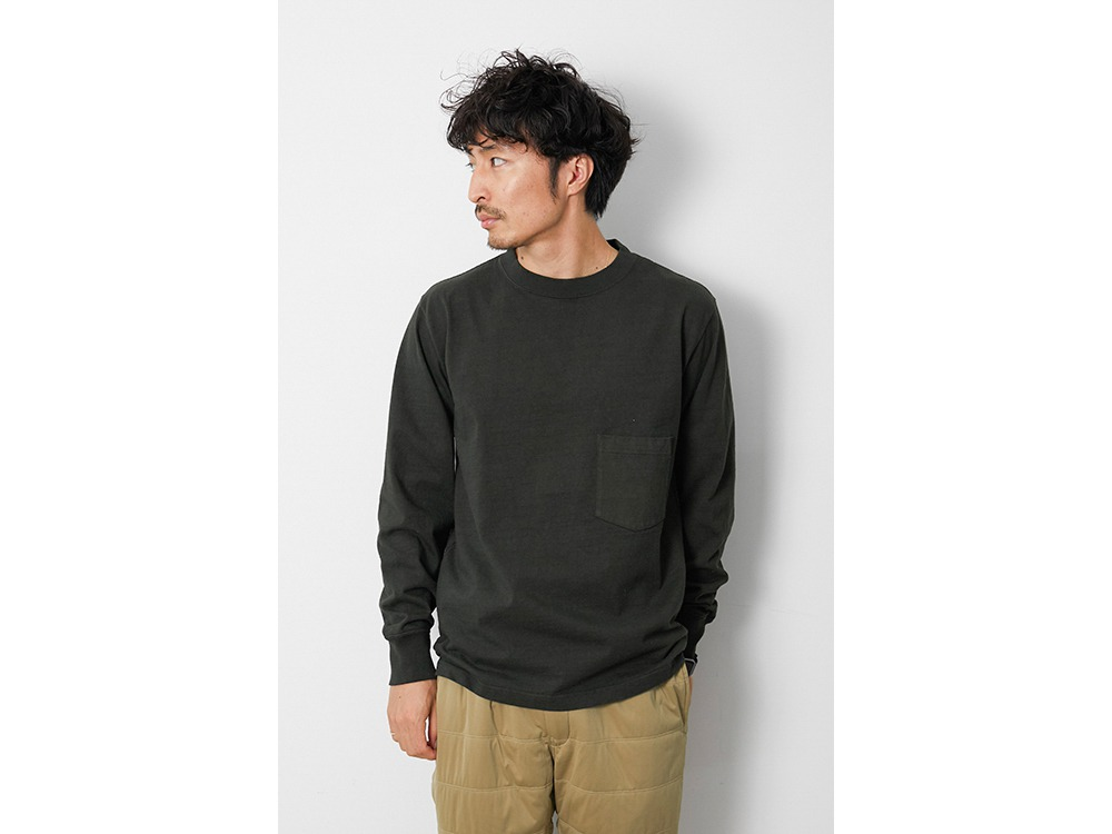 Heavy Cotton GD Crewneck L/S L BK