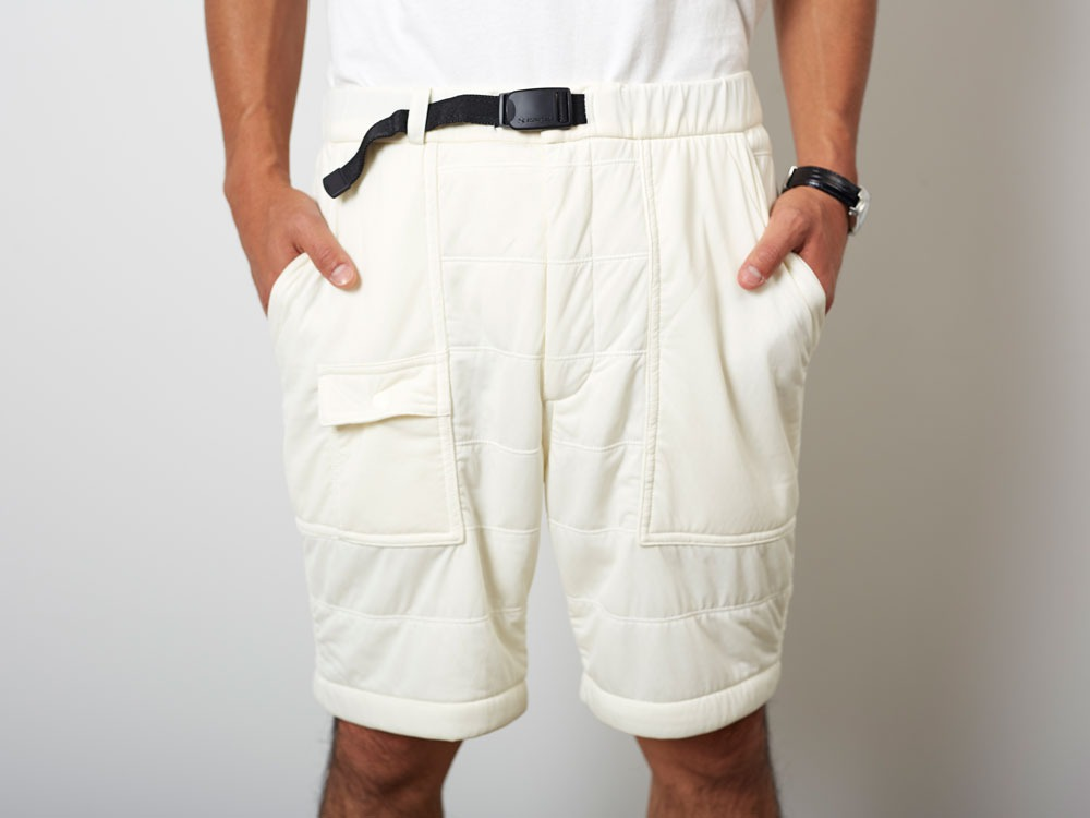 FlexibleInsulatedShorts  S White4