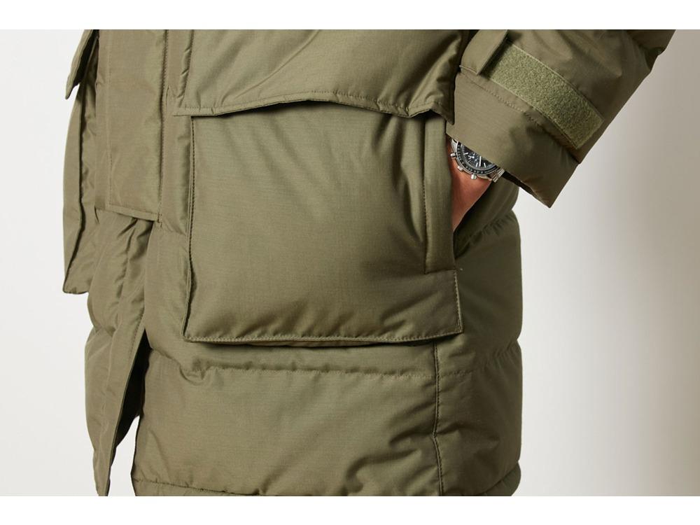 FR Down Coat M Brown