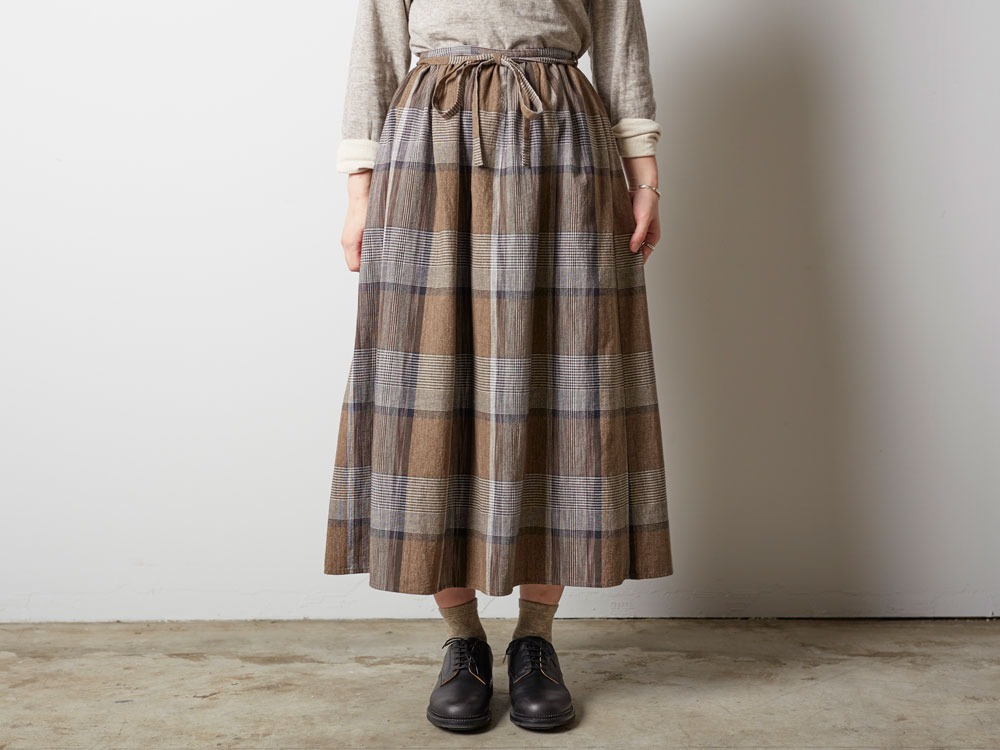 KASURI Skirt 1 Brown1
