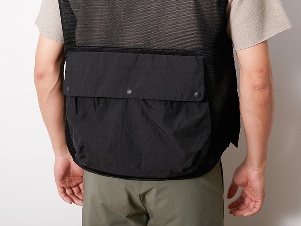 Mesh Vest 1 Black