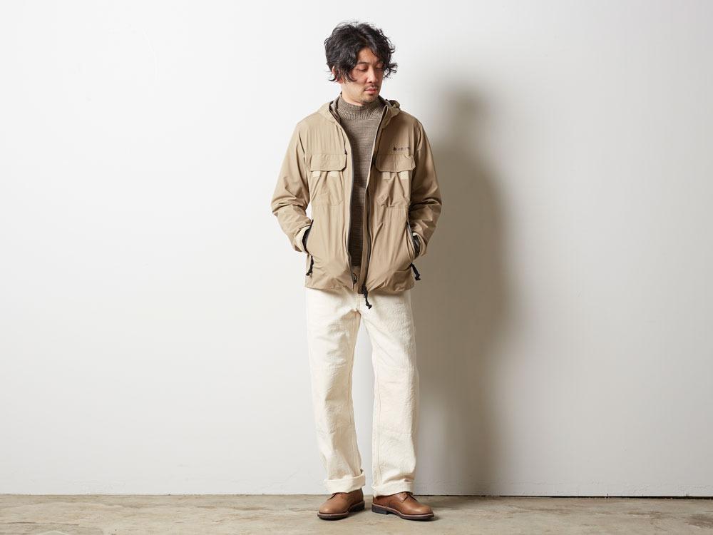 Wind&Water Resistant Jacket M Beige1
