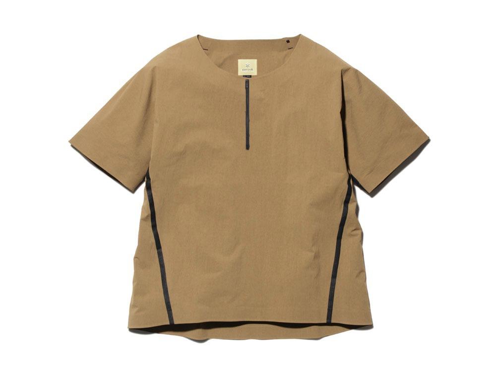 DWR シームレス Tシャツ 1 ブラウン