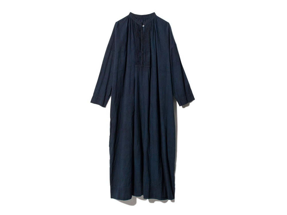 Hand-woven Cotton Pleated Dress 1 DA
