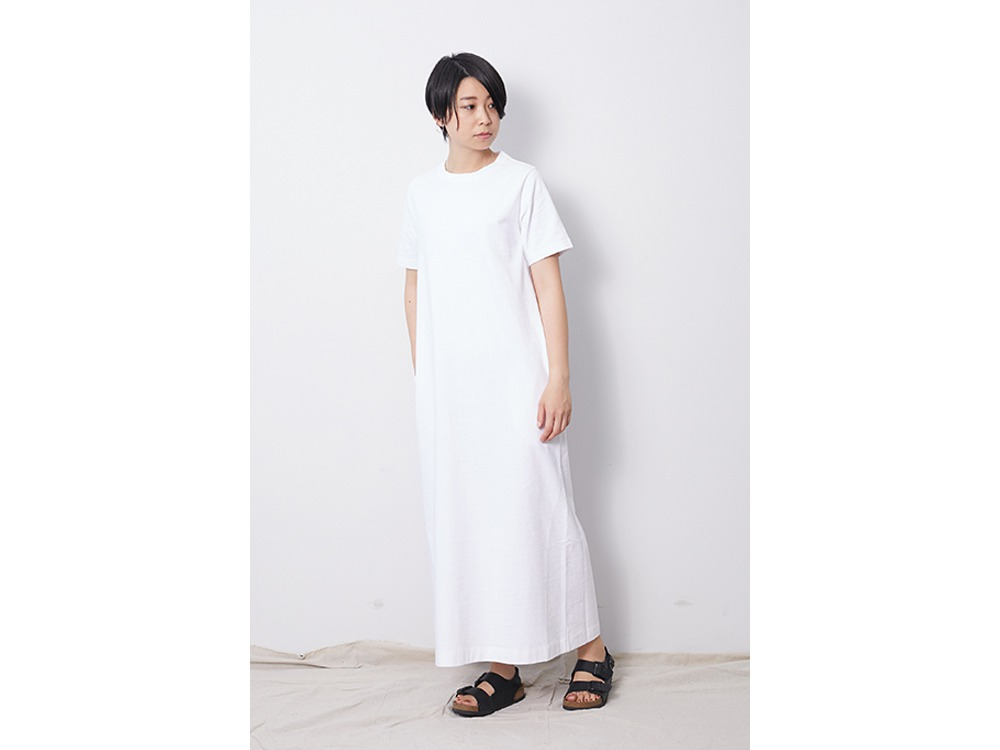 Heavy Cotton Dress 2 White