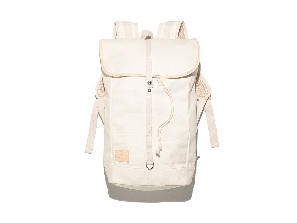 Canvas Backpack White0