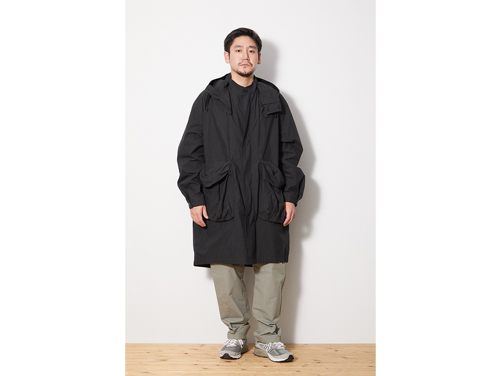 Indigo C/N Coat XL Black