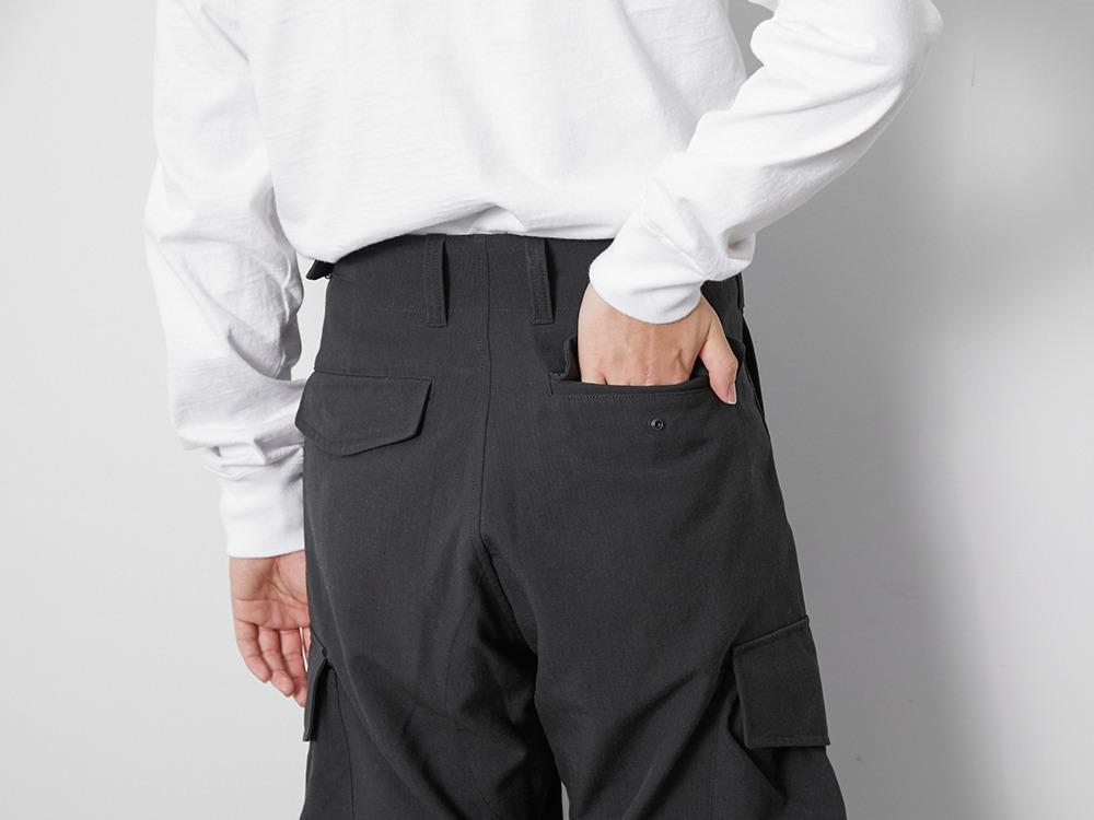 TAKIBI Pants S Black