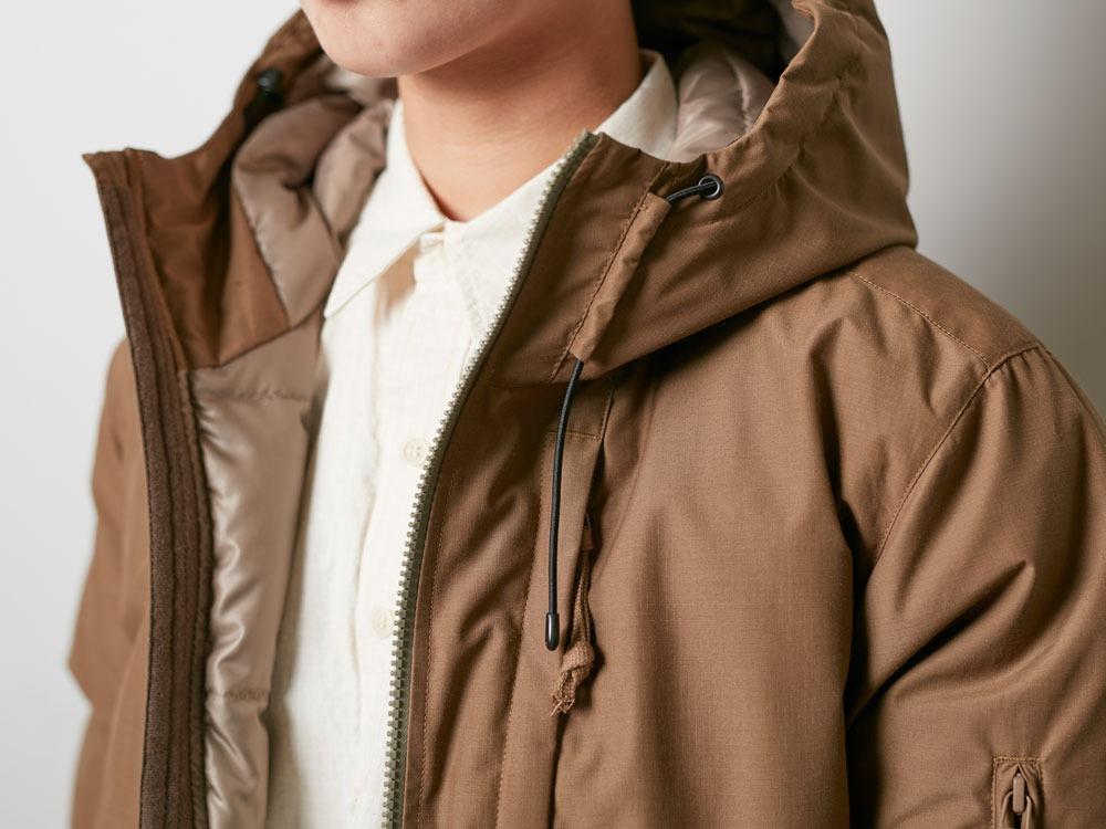 FR Down Jacket S Olive5