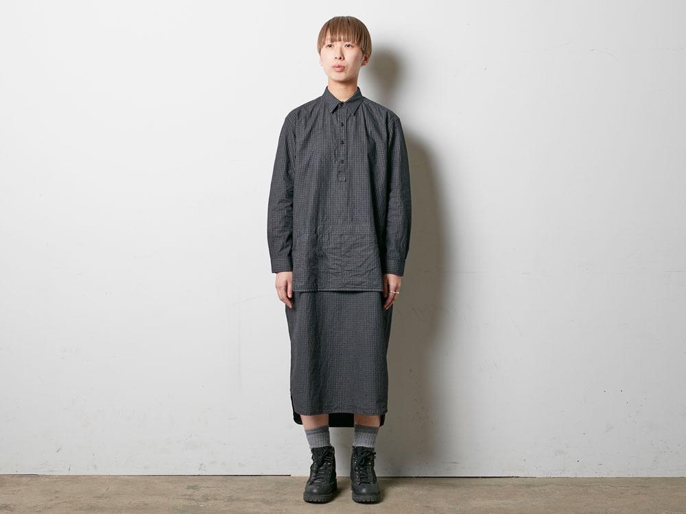W's Organic Rip Stop Dress 3 Ecru1