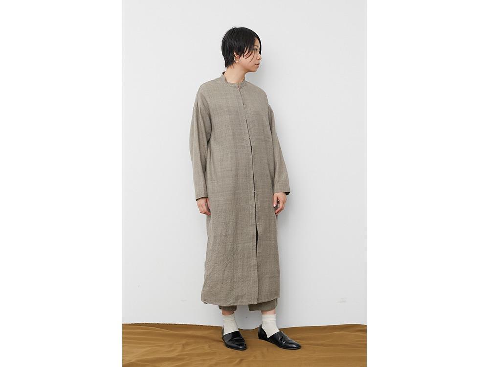 Hand-woven Wild Silk Coat 1 Ash