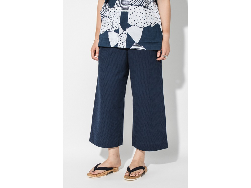 SASHIKO PANTS Wide