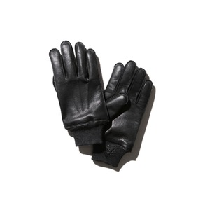 Military Leather Gloves S Black