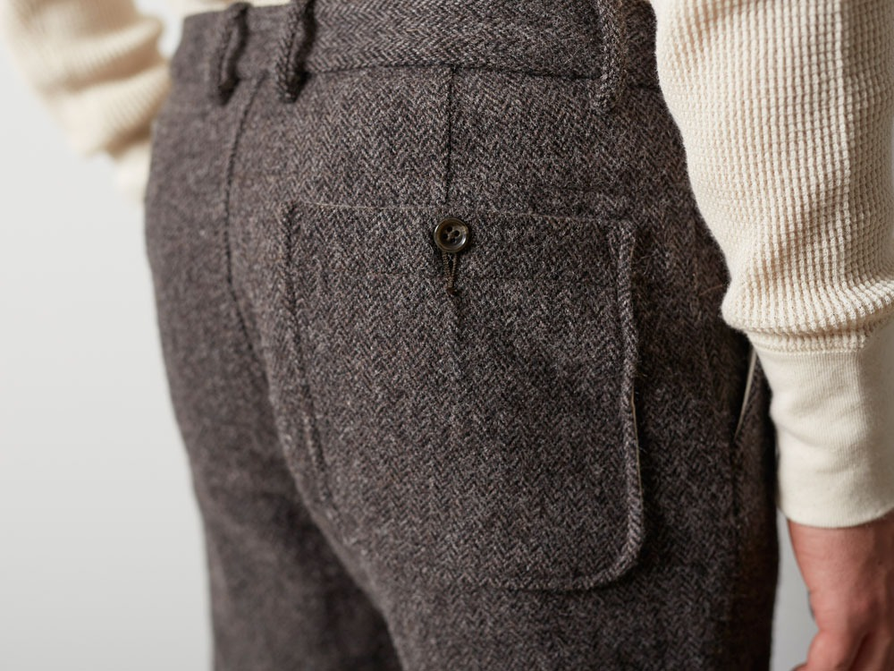 Camping Wool Pants M Brown5