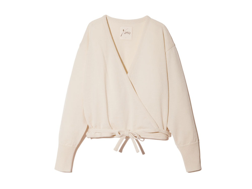OG Wool Knit Cardigan 1 Ecru