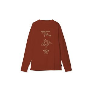 Fireplace ロングスリーブ Tシャツ