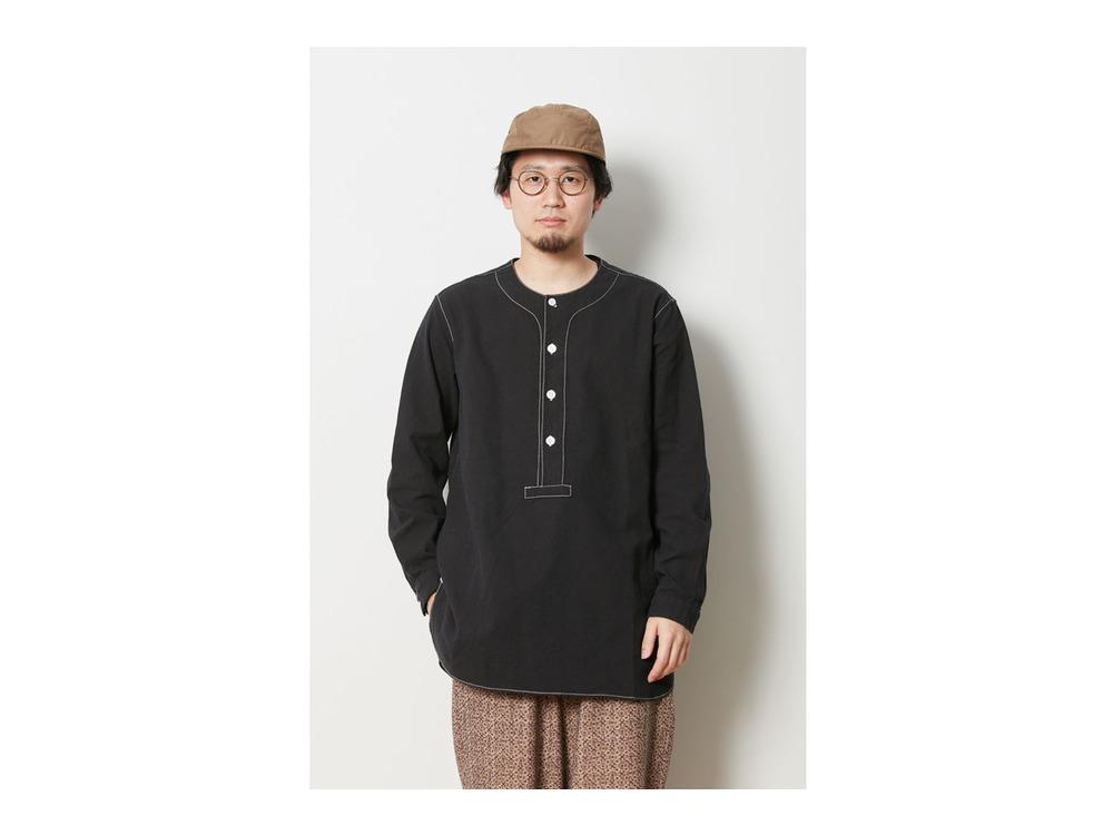 ナシジ スリーピングシャツ S Black