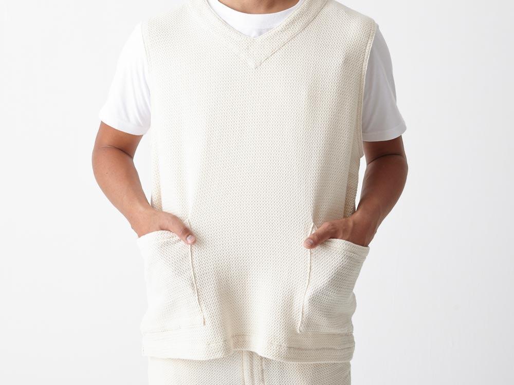 Dobby Denim Vest XL Indigo5