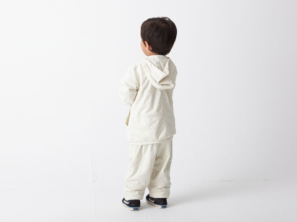 Kids Flexible Insulated Hoodie 1 White2