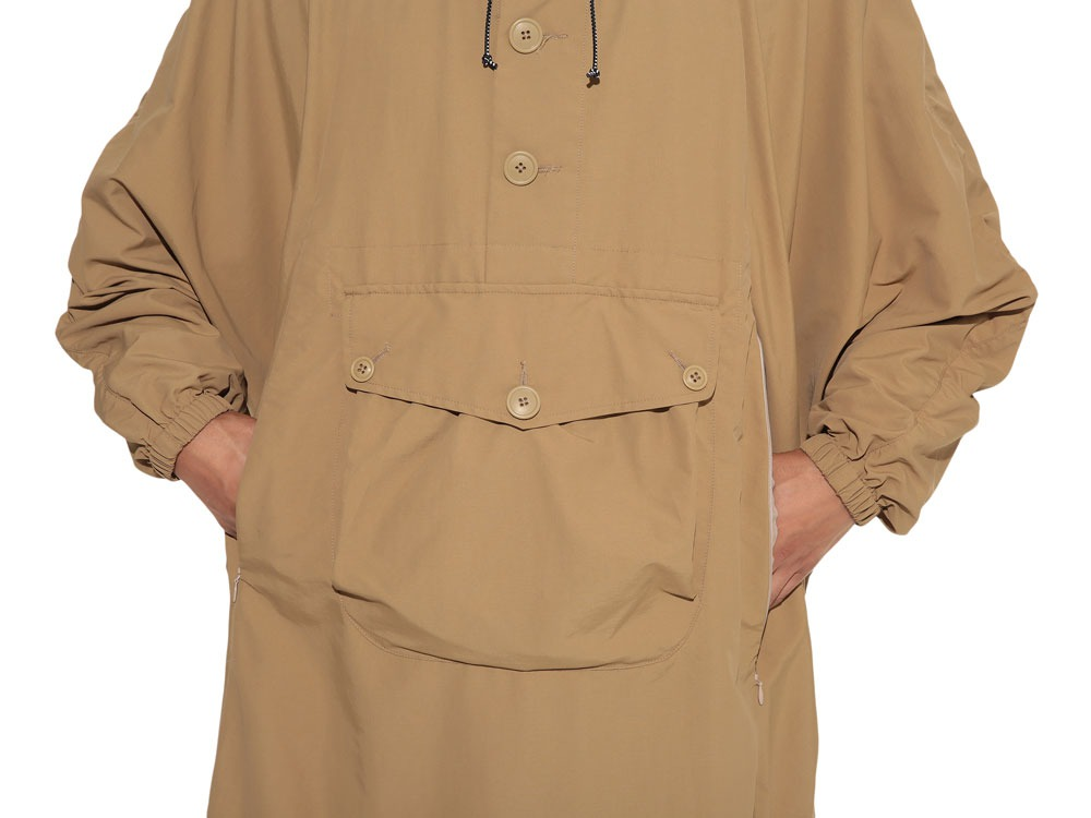 Camping Over Poncho M Beige5