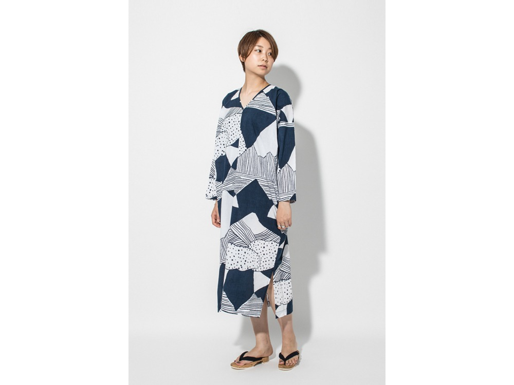TENUGUI Dress one 山脈