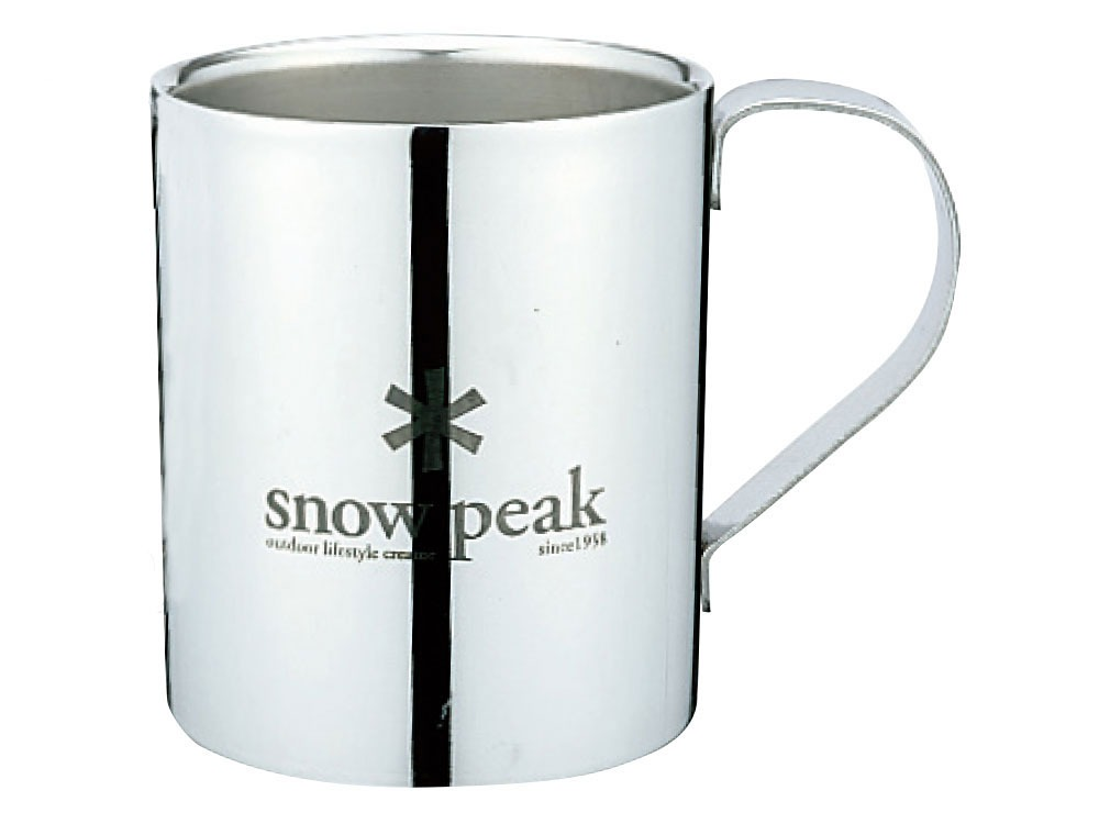 Snow Peak Logo Double Wall Cup 3300