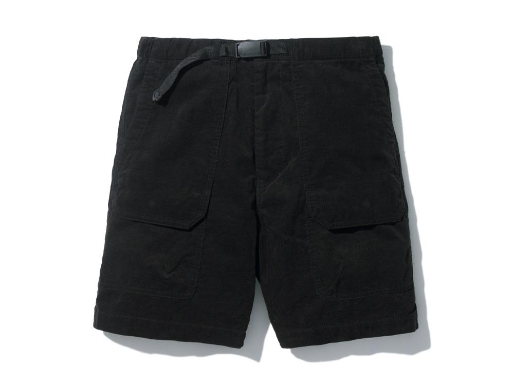 サマーコードュロイショーツ  XL ブラック