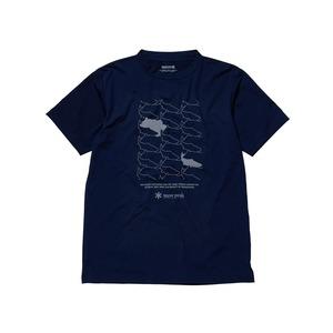 ナチュラルトロンプルイユティーシャツ