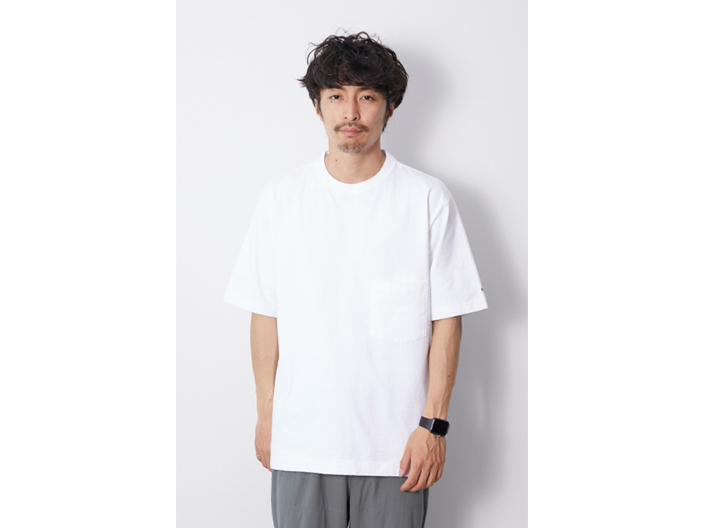 Heavy Cotton Tshirt M White