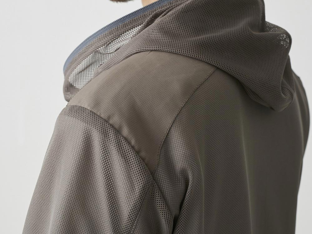 Insect Shield Parka L Grey6