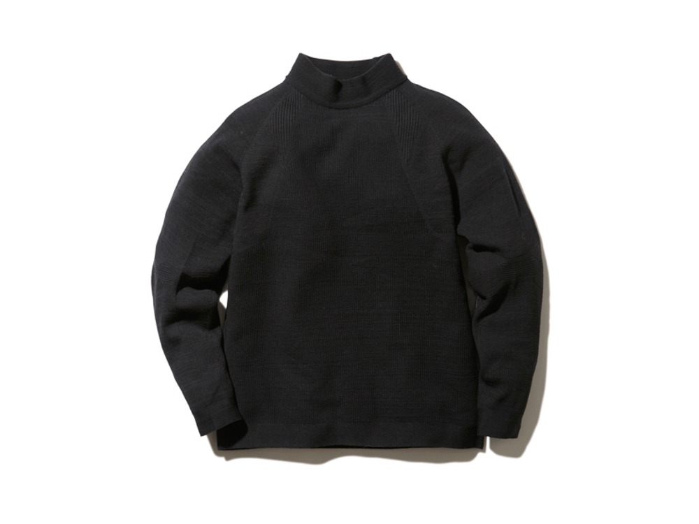 WG Stretch Knit Pullover S Black