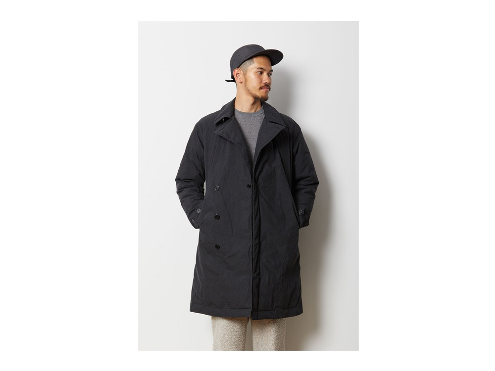 Indigo C/N Down Coat M Black