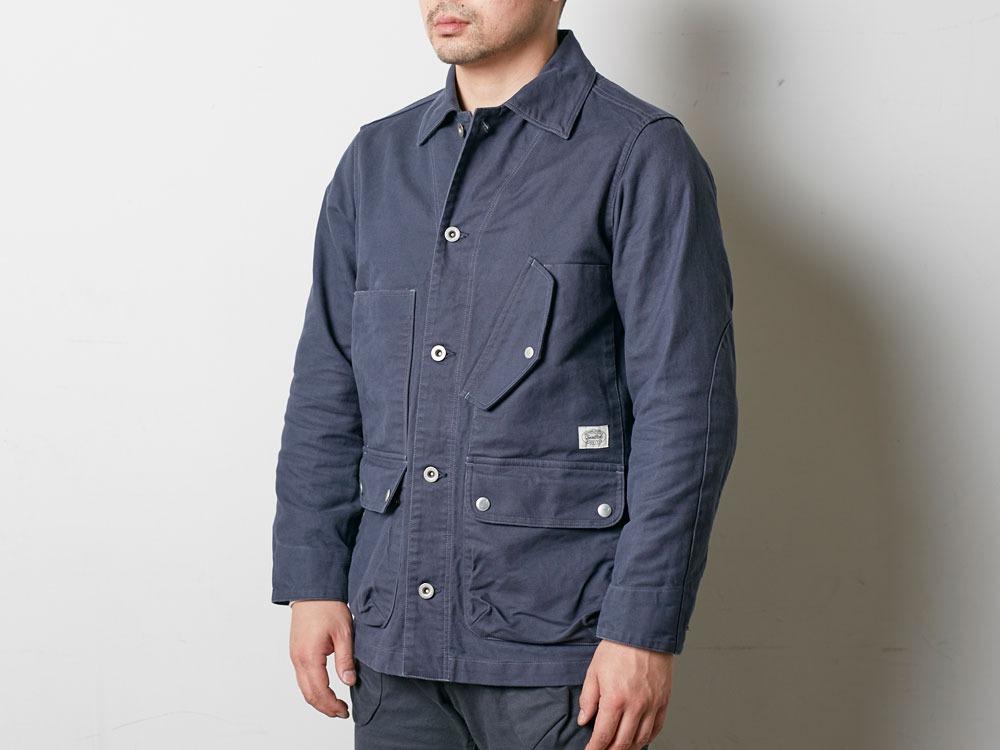 TAKIBI Coverall Jacket S Olive5