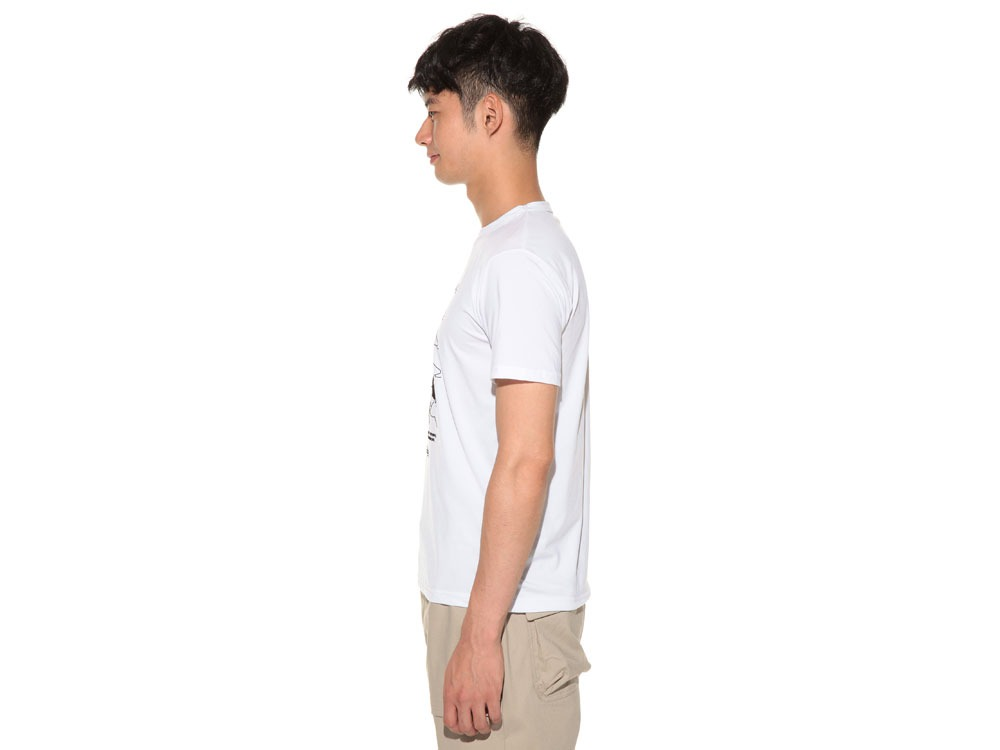 Natural Trompe I'oeil Tshirt L White3