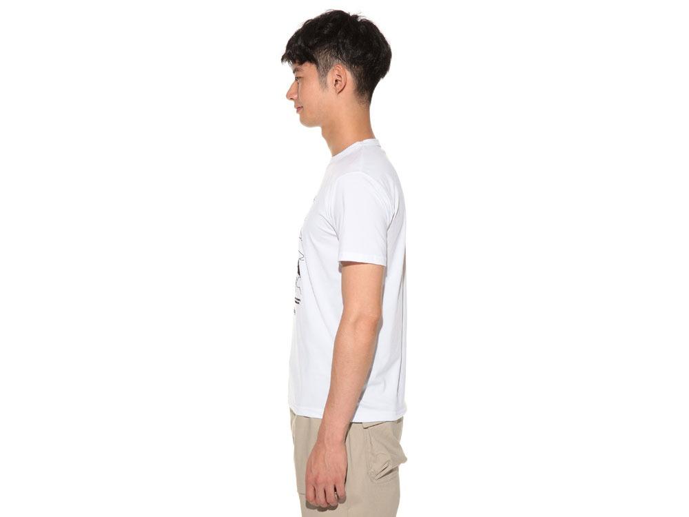 Natural Trompe I'oeil Tshirt XL White3